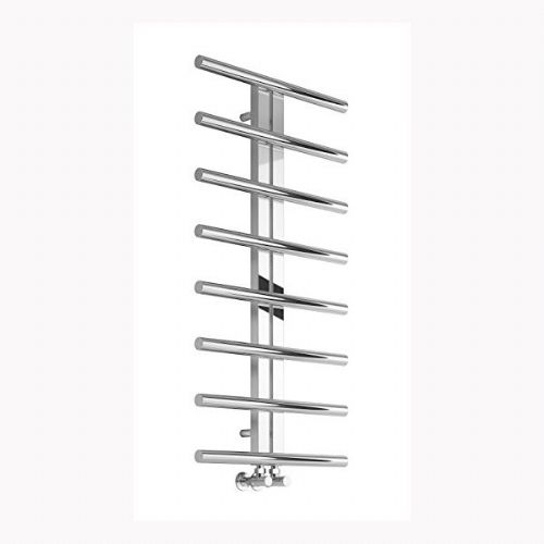 Reina Pizzo Vertical Designer Heated Towel Rail - 1000mm x 600mm - Polished